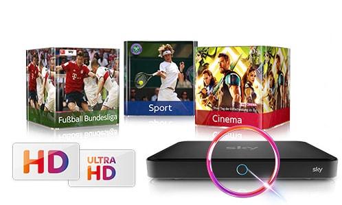 Sky HD Angebot