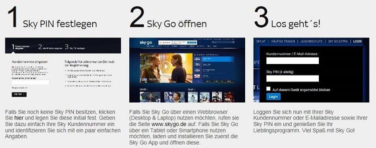 Sky Go - So einfach gehts