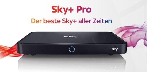 Der neue Sky+ Pro Receiver