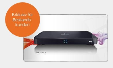 Sky Angebot für Bestandskunden: Sky+ Pro für nur 99 Euro