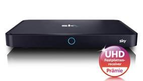 Sky+ Pro Ultra HD Festplattenreceiver Prämie