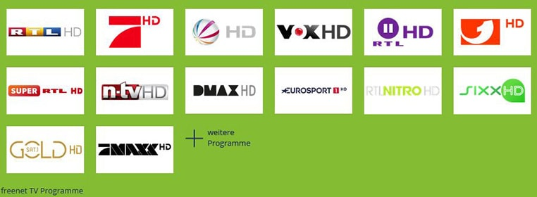 Freenet TV Programme