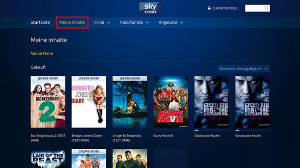 Sky Store Inhalte wieder ansehen - so einfach geht's
