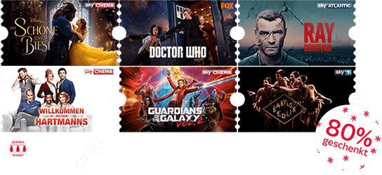Sky Cinema Monatsticket für 9,99 €
