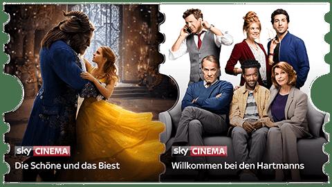 Sky Cinema Ticket: Serien, Filme, Inhalte und Sender