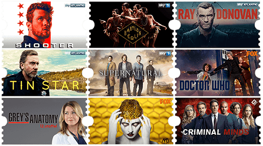 Sky Entertainment Ticket Inhalt und Serien