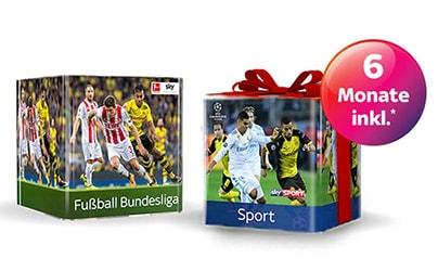 Fußball Bundesliga Angebot + 6 Monate Sport Paket gratis