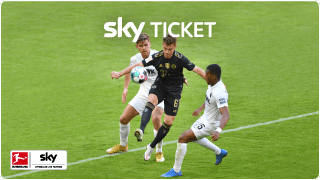 Sky Bundesliga im Ticket live streamen