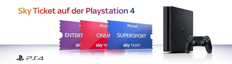 Sky Ticket auf der Playstation gucken - so einfach geht's