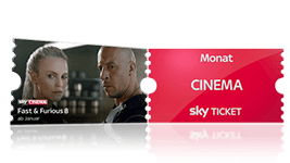 Sky Probeabo mit Cinema Ticket