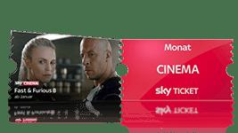Sky Probeabo mit Cinema Ticket
