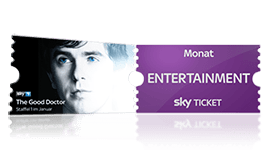 Sky Probeabo mit dem Entertainment Ticket