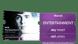 Sky Probeabo mit dem Entertainment Ticket