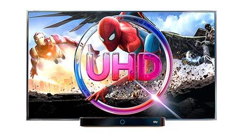 Einzigartige Bildqualität in Ultra HD bei Sky Q