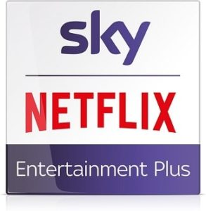 Sky Entertainment Plus Paket: Sky Q mit Netflix Angebot ab 16,49 EUR