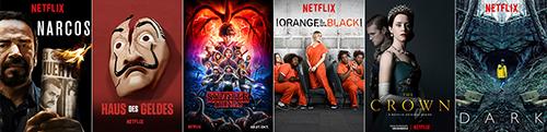 Netflix Inhalte auf Sky Q