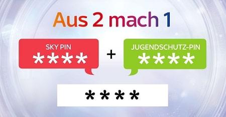 Sky PIN & Jugendschutz PIN