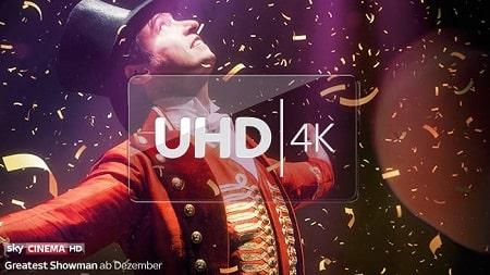 Sky UHD 4K