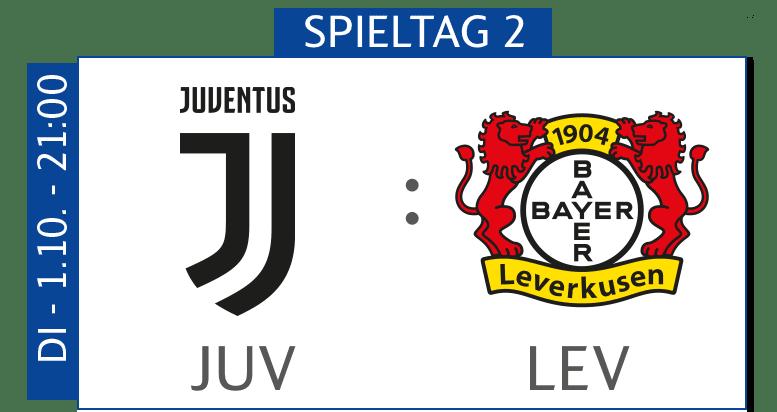 Juventus Turin - Bayer 04 Leverkusen heute im TV und Livestream