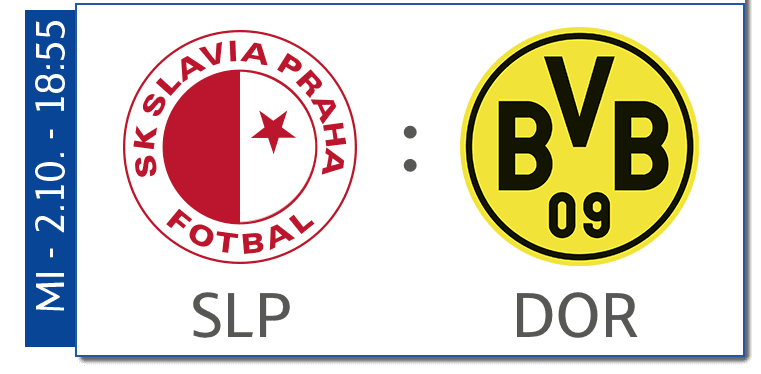 Slavia Prag - Borussia Dortmund heute live