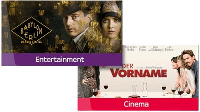 Sky Entertainment Monatsticket + Serien Ticket für nur 9,99 €