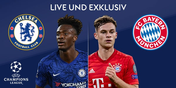 FC Bayern vs. FC Chelsea am 18.3. mit Sky Ticket streamen