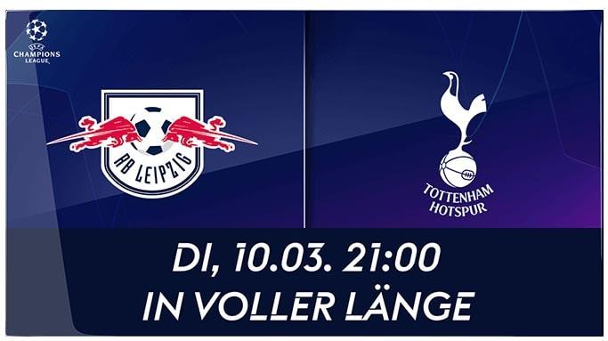 Leipzig vs. Tottenham Hotspur: Live-Stream mit Sky Ticket ab 4,99 €