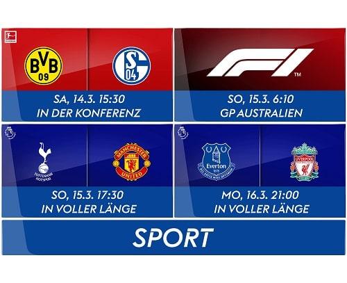Mit dem Sport Ticket alle Konferenzen streamen