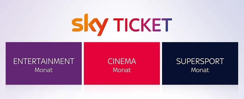 Sky Ticket: Der Streaming Dienst von Sky
