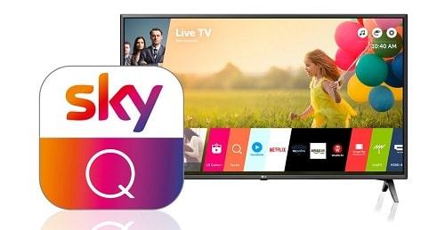 Sky Q App für LG Smart TV