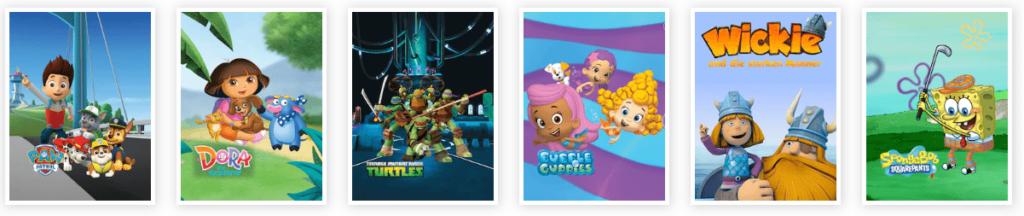 Kinderfilme- und Serien im Sky Kids Paket