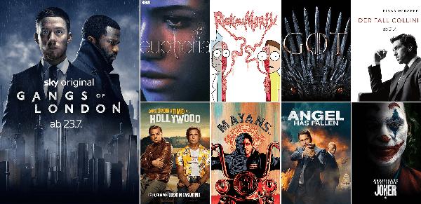 Exklusive Serien & Filme bei Sky Cinema & Entertainment Ticket