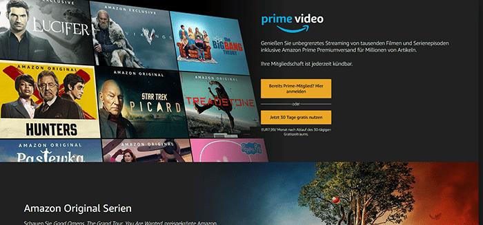 Prime Video Kostenlos