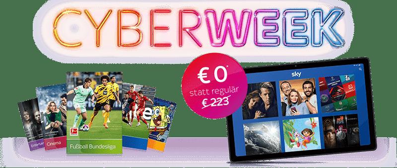 Sky Cyber Week Angebot