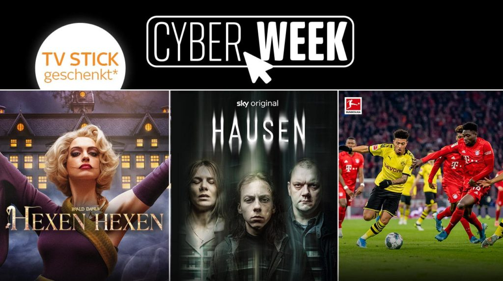 Sky Ticket Cyber Week Angebot
