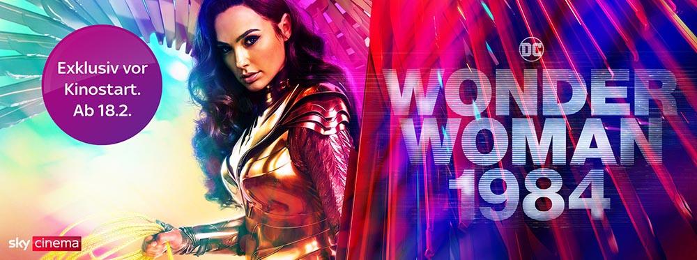 Wonder Woman 1984: vor Kinostart exklusiv bei Sky und Sky Ticket