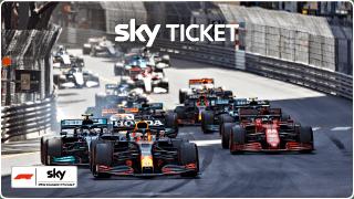 Sky Ticket Formel 1 Angebot für 19,99 € mtl.