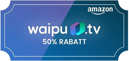 waipu.tv Amazon Angebot