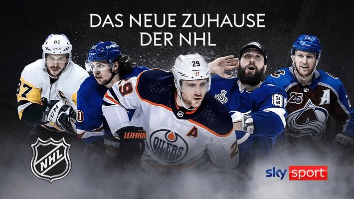 NHL im TV & Live-Stream: Exklusiv bei Sky & Sky Ticket